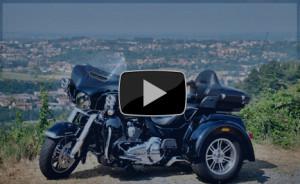 Harley Davidson Tri Glide Ultra my 2015 la prova su strada