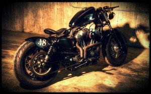 Foto Harley Davidson Forty Eight modificate (Fotogallery 16 foto)
