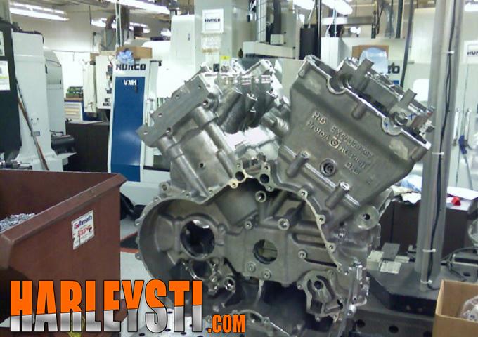 progetto Overlord basato sul motore V4 Harley Davidson