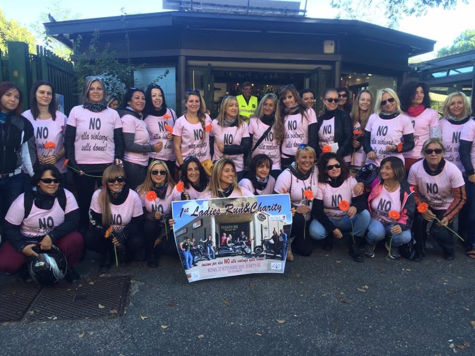 Harleyste contro la violenza sulle donne, la prima edizione di Ladies Run&Charity 004
