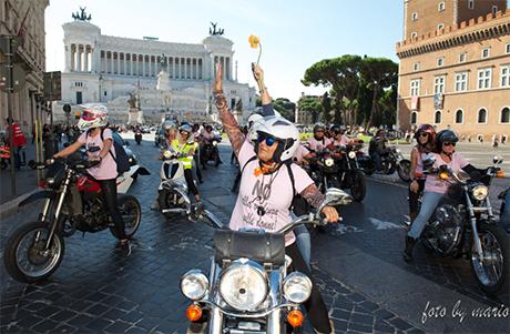 """Harleyste contro la violenza sulle donne, la prima edizione di """"Ladies Run&Charity"""""""