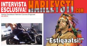 La Harley Davidson di Fabrizio Corona in vendita a 66 mila euro? Estiqaatsi!