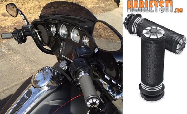 Harley-Davidson e le manopole della collezione BURST