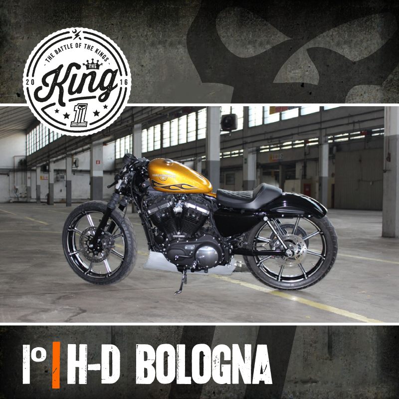 The Battle of the Kings 2016 Primo Classificato Harley Davidson Bologna