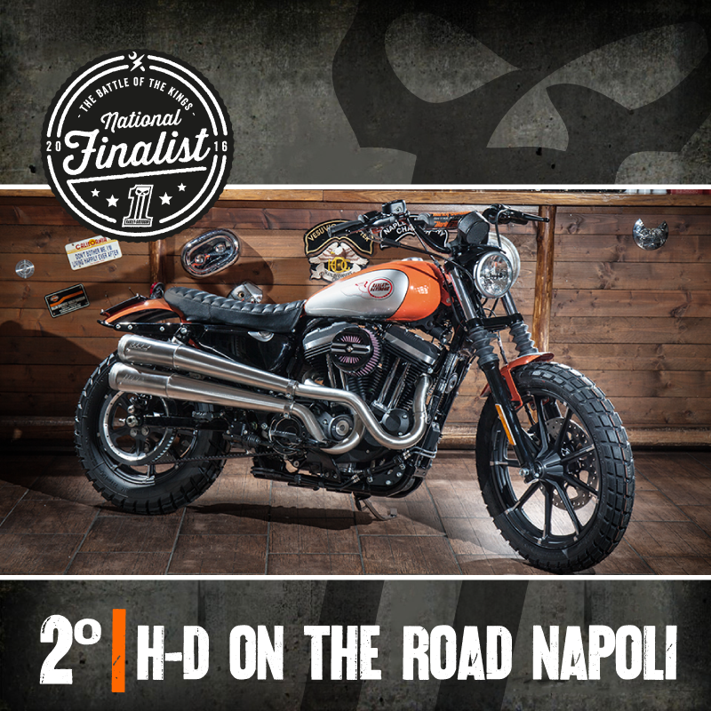 The Battle of the Kings 2016 Secondo Classificato H-D on the road Napoli