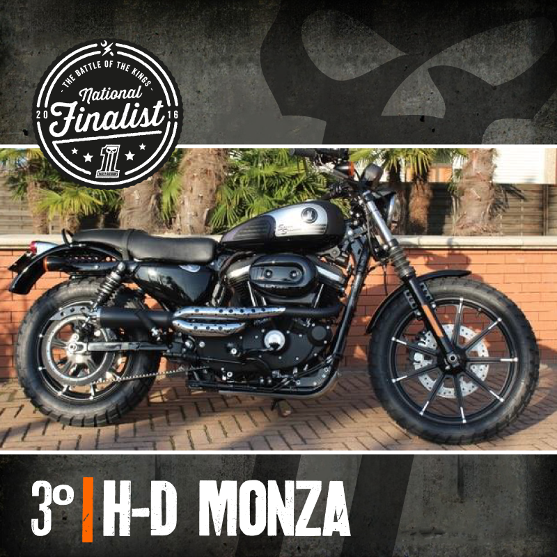 The Battle of the Kings 2016 Terzo Classificato Harley Davidson Monza