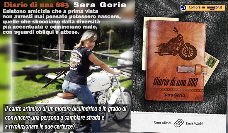 Diario di una 883, il libro di Sara Goria