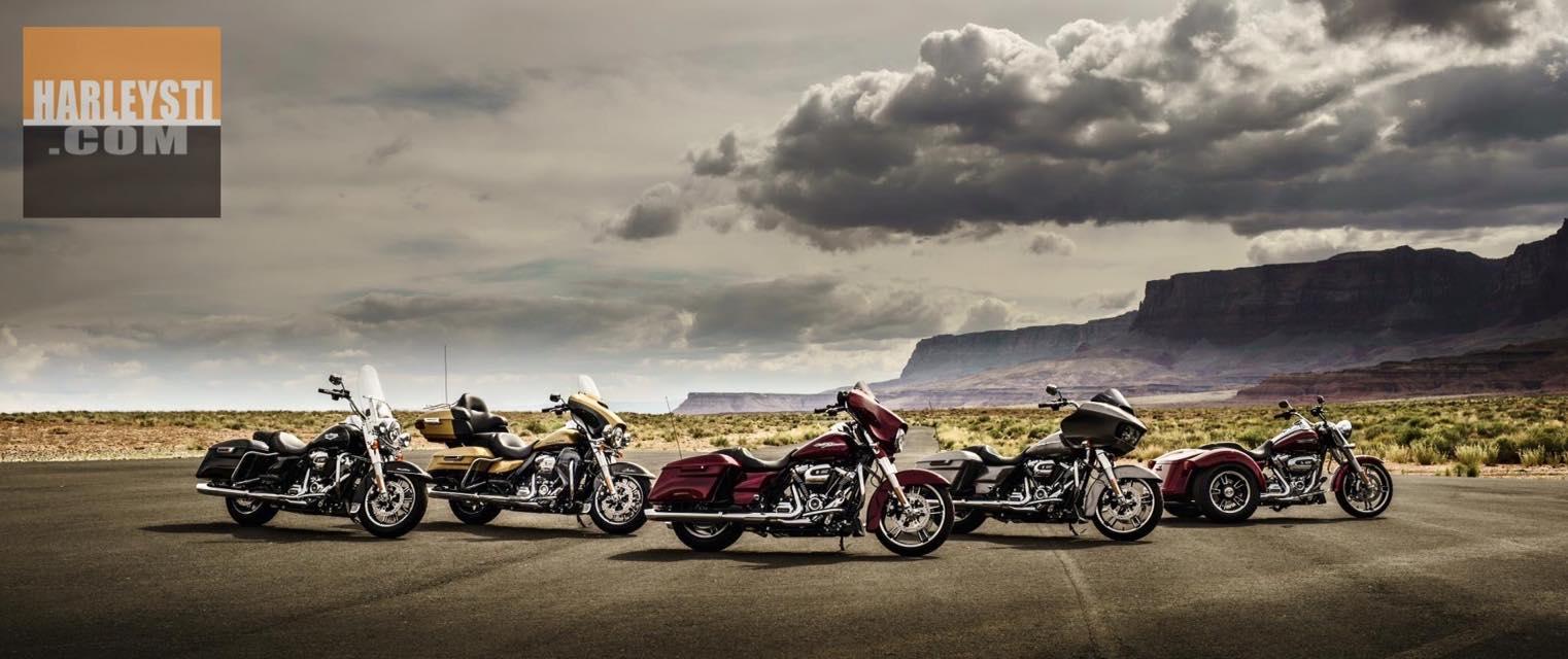 Harley Davidson presenta le nuove motociclette della gamma Touring 2017