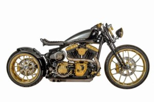 Softail JPS Special by Shaw Speed Custom