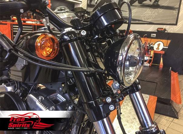 Da Free Spirits le nuove cover steli forcella per Harley-Davidson Forty Eight