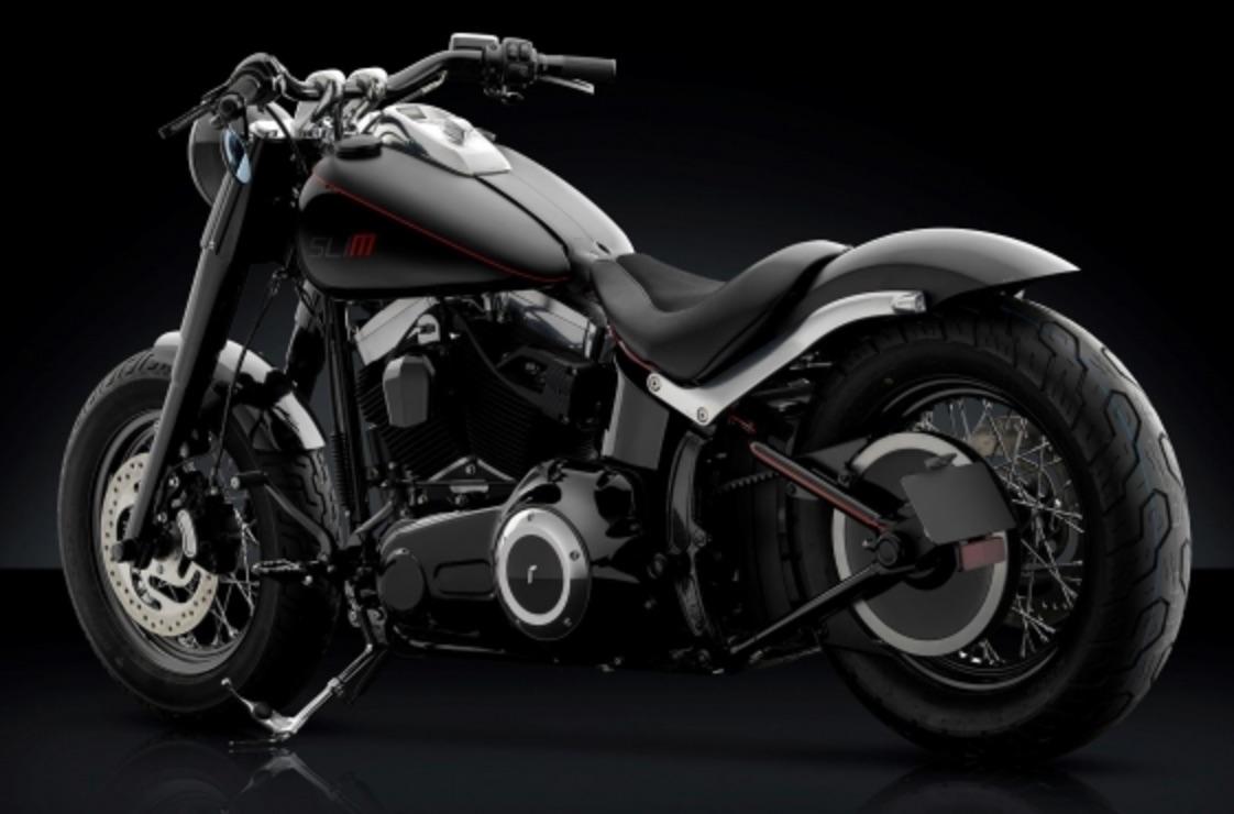 Rizoma presenta la nuova linea accessori pensata per Harley Davidson Softail Slim