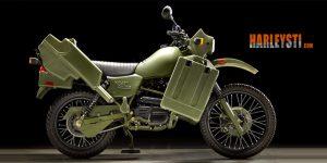 Venduta all'asta una rara Harley-Davidson MT500 militare, nata da un progetto italiano
