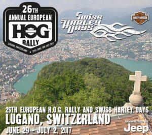 European HOG rally 2017 si svolgerà a Lugano