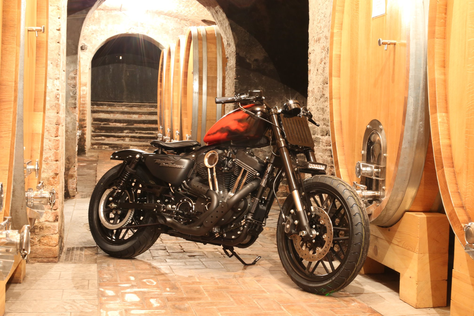 """Patanuta"" la Roadster di Harley Davidson Alba per il concorso ""Battle of the kings"""