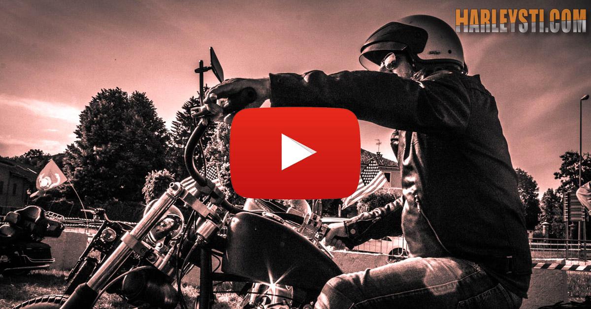 Guidare una Harley Davidson è vivere dentro una emozione  ( Video )