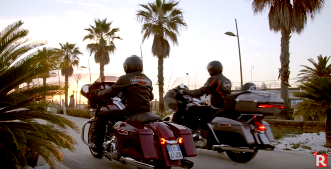Harley-Davidson, coast to coast all'italiana. In viaggio con le touring lungo la linea gotica (Video)