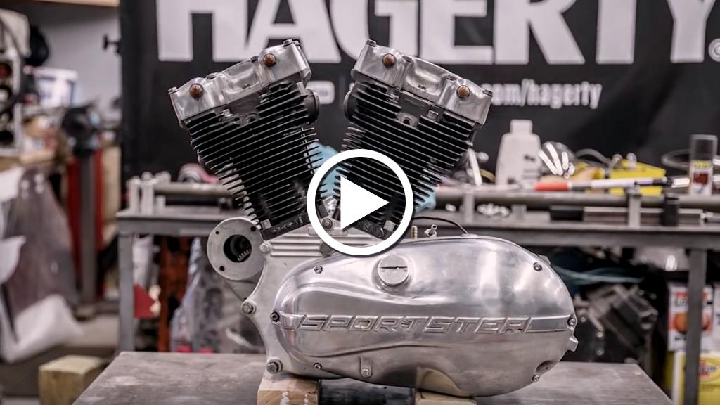 Sportster Ironhead, smontaggio rimontaggio in 2 minuti (Video)