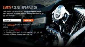 Harley Davidson, come consultare l'elenco richiami di sicurezza?