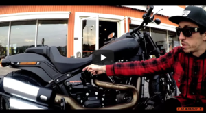 Harley Davidson Fat Bob 2018 video-recensione by ANDYLOVE