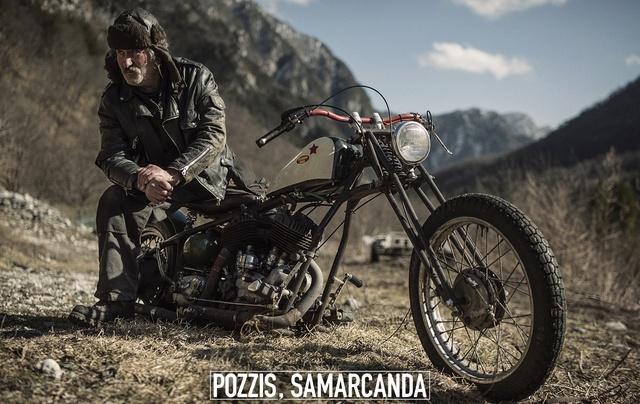 Con una Harley Davidson del 1939 in viaggio da Pordenone a Samarcanda in Uzbekistan