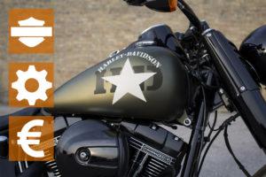 Una Harley-Davidson è sempre una buona scelta