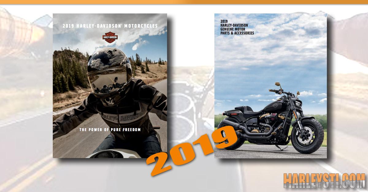 Catalogo Accessori e Moto Harley Davidson 2019 da scaricare in PDF ( con catalogo di aggiornamento nuove parti! )