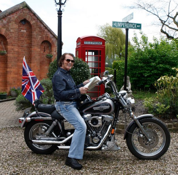Harley Davidson FX4 Dyna Glide Custom 1340 1992 di proprietà del cantante Engelbert Humperdinck