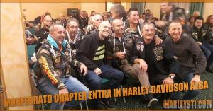 Monferrato Chapter entra ufficialmente nella famiglia Harley Davidson Alba