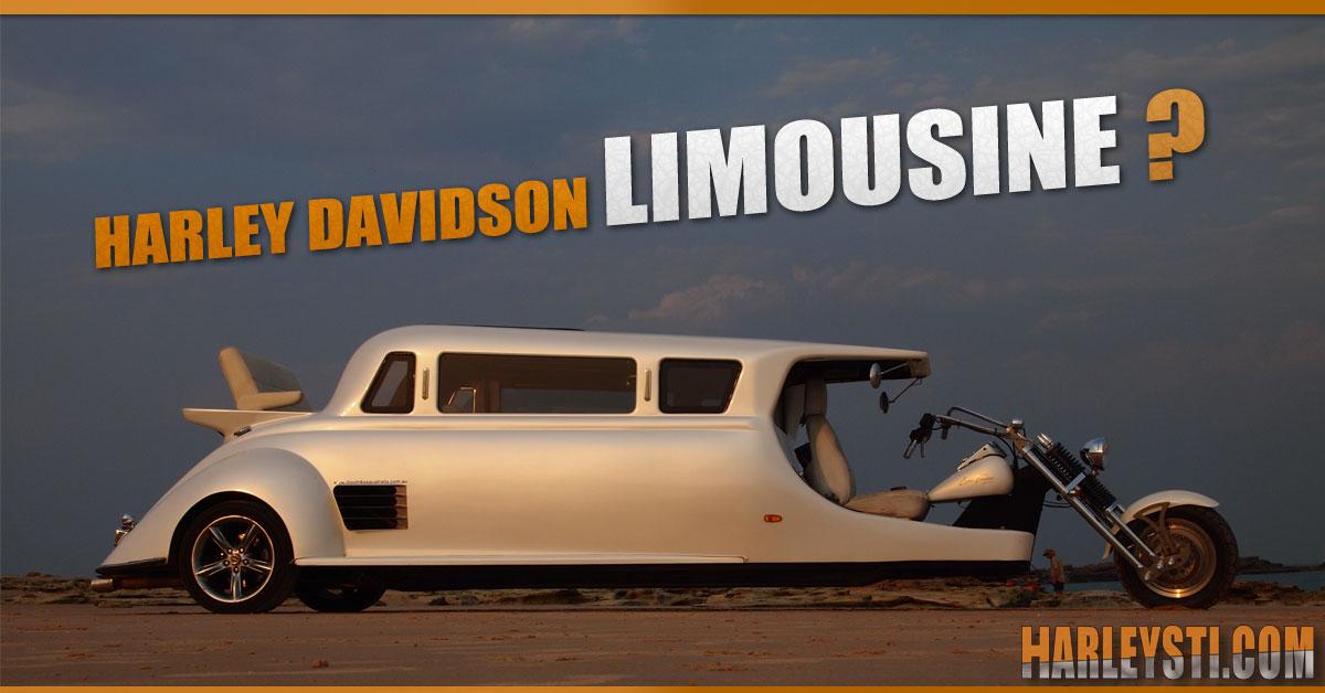 """Questa Harley Davidson """"ibrida"""" è una Limousine, cosa??"""