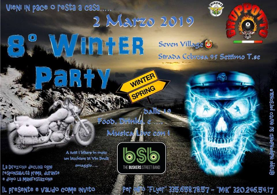 8° Party Invernale Gruppotto Bikers