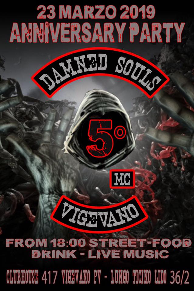 Damned Soul Anniversary Party 2019