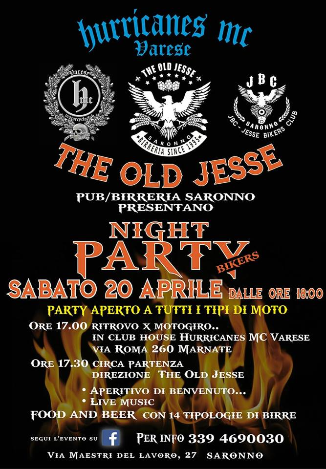 Night Party Bikers 2019