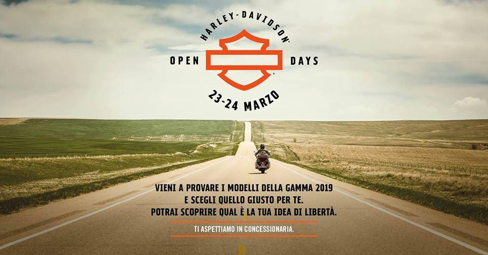 Open Day Harley-Davidson Alba