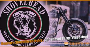 Registro Shovelhead Italia : 20° Shovel Party (VideoLive)