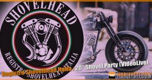Registro Shovelhead Italia : 20° Shovel Party (VideoLive)