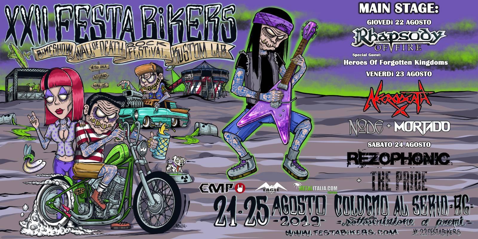 Festa Bikers 2019 Cologno al Serio – Bergamo