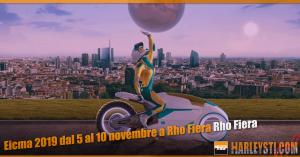 Eicma 2019 dal 5 al 10 novembre a Rho Fiera