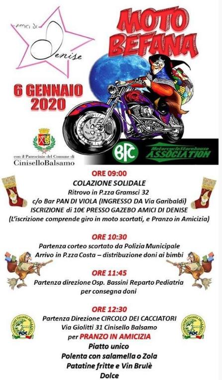MOTO BEFANA 2020 Bfcassociation Motorcyclestorehouse